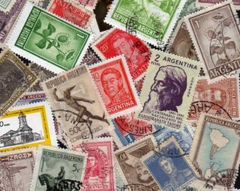 Argentina Stamps, 50 Diff, Argentina Postage stamps, South American Stamps, Argentinian Stamps, Postage Stamps,Stamps, Argentina Stamps