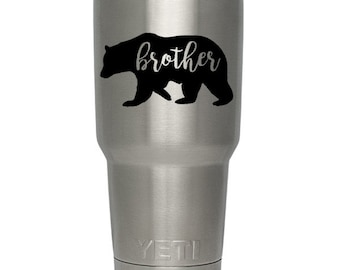 brother bear vinyl decal sticker