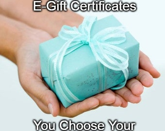Gift Certificate Any Amount Birthday Anniversary Graduation Retirement Gift One Size Fits All Last Minute Email Gift Cards Oops! I Forgot