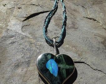 Australian Opal Handmade pendant