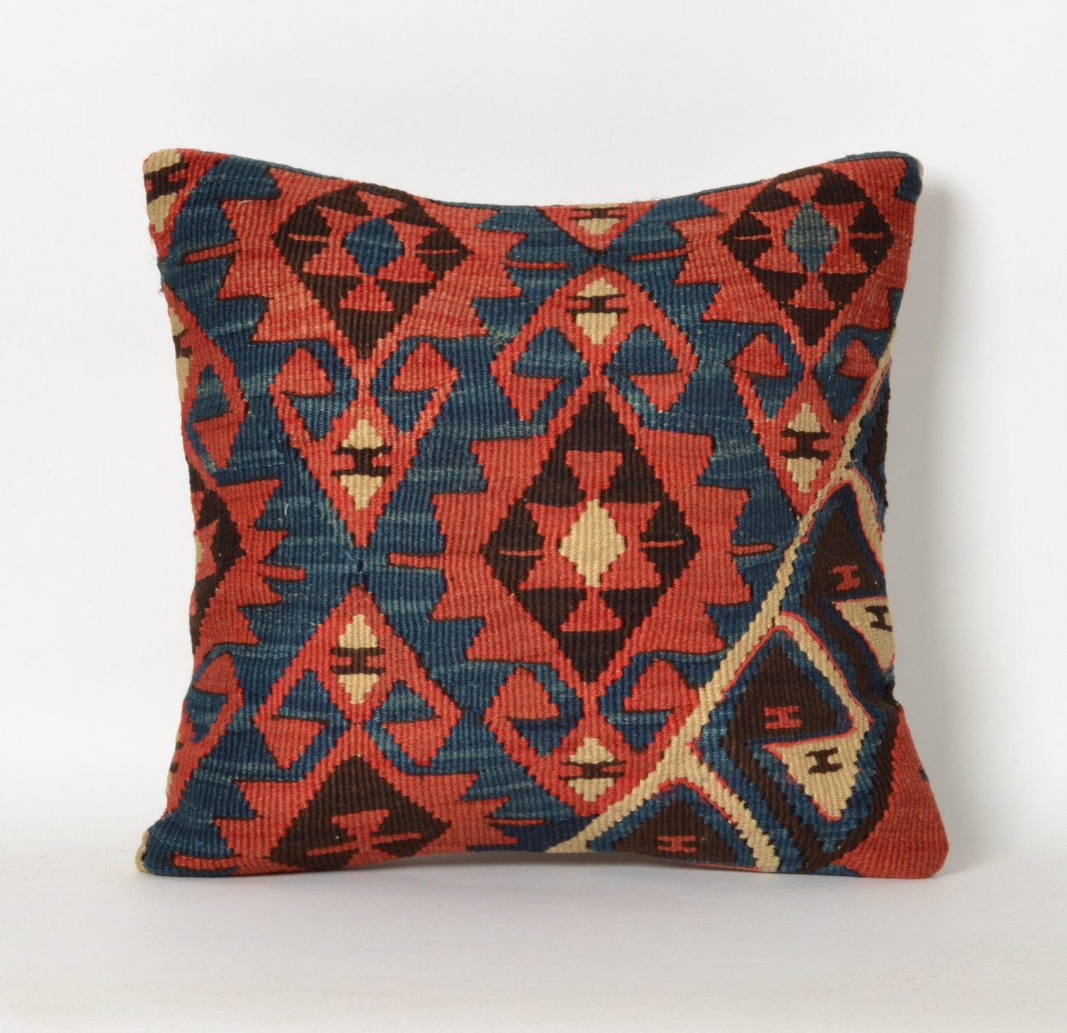 Tribal Rug Moroccan Boho Pillow Floor Rug Cushion