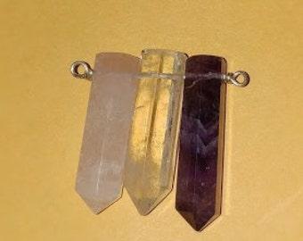 Basic 3 Stone Pendant