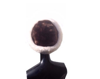 ON SALE Vintage Hat | Faux Fur | British Made | Winter