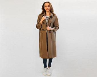 wool duffle coat – Etsy NZ