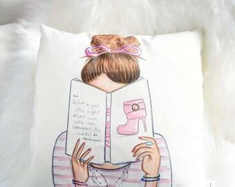 Teen Pillows, Teen Girl Room Décor, Accent Pillow, Fashion Decorative  Pillows, Cushions