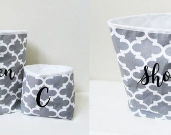 Large Storage Bin - Fabric Bin - Storage Organizer - Storage Basket - Home Decor - Large