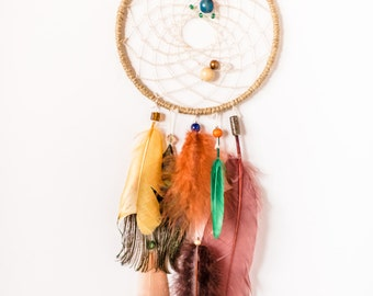 Assorted Unique Dreamcatcher, Peacock, Hippie Dreamcatcher, mixed media, wall hanging
