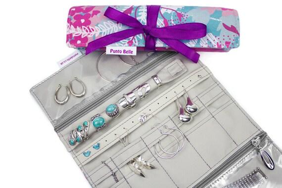 Jewelry Roll / Jewelry Organizer, Jewellery Roll, Jewelry Storage, Travel Jewelry roll, Jewelry Holder, Jewelry Case, Travel Gift, Jewelry