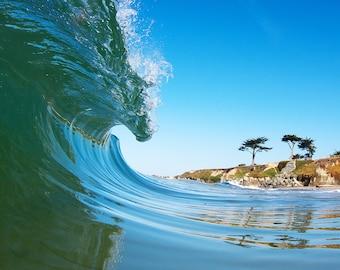 Wave Photos, Surfing Waves,  California Beach, Surf Photography Santa Cruz Beaches