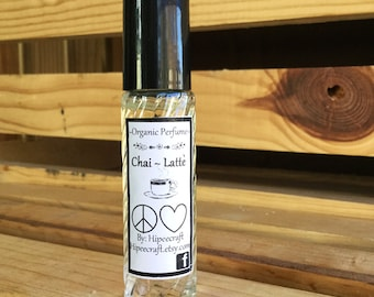 Perfume Oil Roll On Perfume Oil Organic Perfume All Natural Perfume Roll On Perfume Chai Latte