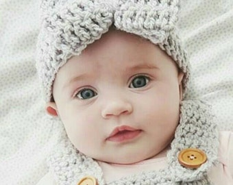 Hand crocheted headband in sizes Newborn-Adult!