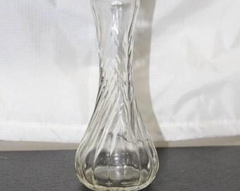1979 Hoosier glass Bud Vase