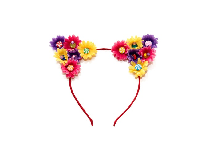 Candy Cat Ear Headband