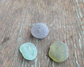 Lake Erie Beach Glass 3 pieces