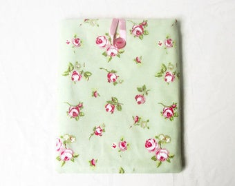 Floral 10 inch tablet cover suitable for IPad or similar