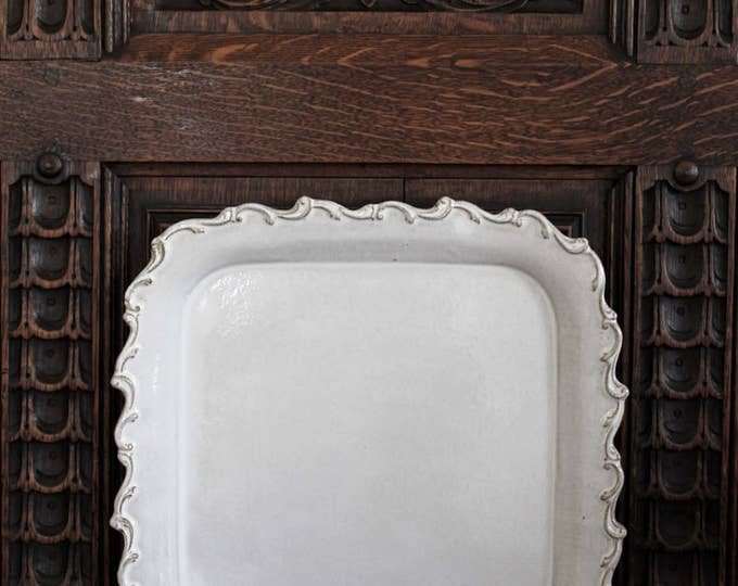 Square Baroque Serving Tray