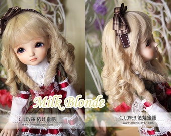 bjd doll girl wig Y-22 (3 colors) for YOSD 1/6BB