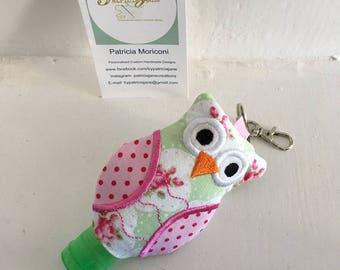 Owl Hand Sanitiser Cover