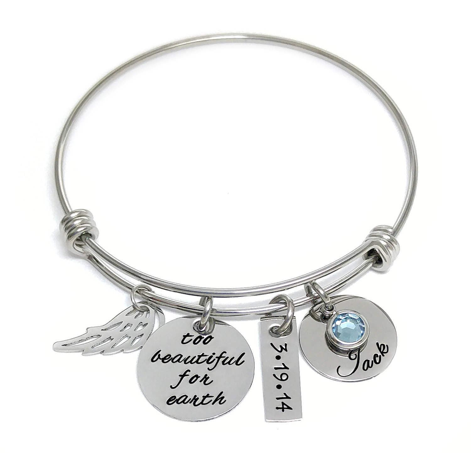 memorial jewelry beautiful for earth personalized