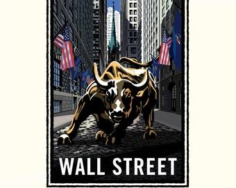 Landmark NY | Wall Street Bull by Mark Herman