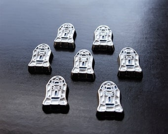 R2D2 Floating Charm for Floating Lockets-1 Piece-Fits All Brands of Floating Lockets-Great Gift Idea