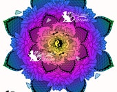 Koi Lotus Pond Mandala Co...