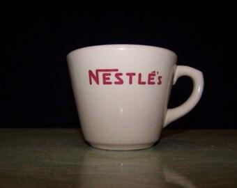 Vintage Nestle's Inca Ware Shenango China New Castle Pa. advertising mug cup