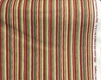 Cranston vintage fabric home decor rust green pillows curtains