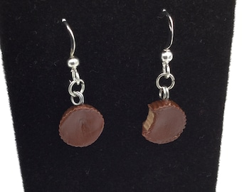Peanut Butter Cup Earrings