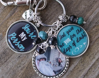 Personalized BEST FRIEND GIFT, Best Friend Key Chain, Personalized Gift for Best Friend, Personalized Best Friend Key Chain, Personalized