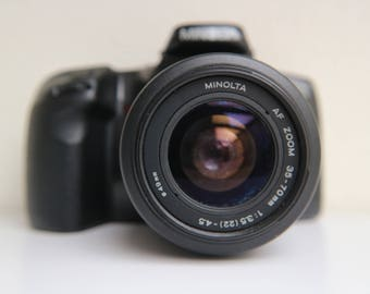 Minolta Dynax 500si 35mm SLR Camera - a perfect SLR camera for learning photography