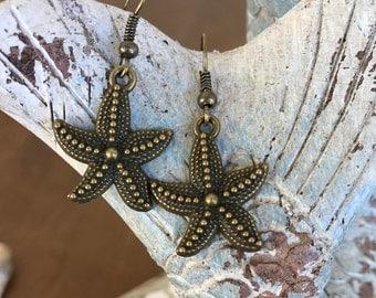 Starfish Earrings Women's earrings
