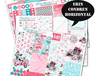 Holiday Stickers, Winter Planner Kit 200+ Holiday Planner Stickers, for Erin Condren Horizontal Planner, December planner #SQ00657-ECH