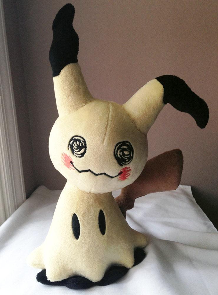 Homemade pokemon plush
