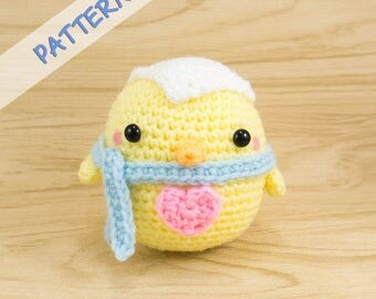 DIY Easter Chick Crochet Pattern - Crochet Chick Pattern - Crochet Easter Pattern - Chick Amigurumi Pattern - Easter Decoration Pattern