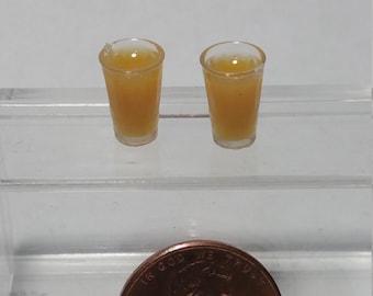 1:12 Scale Drinks, Miniature Drinks