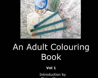 An Adult Colouring Book