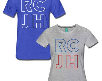 NEW RCJH Rock Chalk KU Shirts - University of Kansas Jayhawks Tee