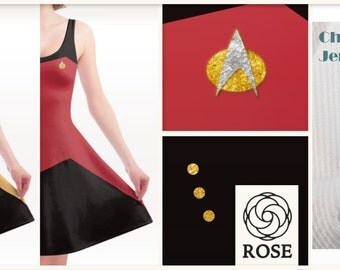 Dress Star Trek - Starfleet Uniform