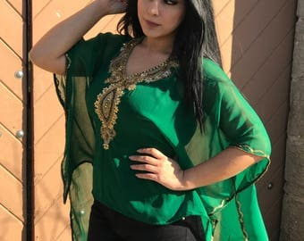 Coco Tunic Kaftan!! High Low Design One of a Kind