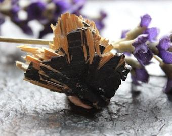 Rutile (eptaxial) on Hematite Mineral Specimen - Brazil