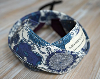 Blue Camera Strap - Liberty DSLR Strap - Floral Camera Sling - Personalized Camera Strap - Tana Lawn Strap