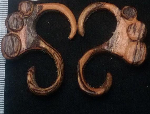 gauge earrings, gauges, tribal earrings