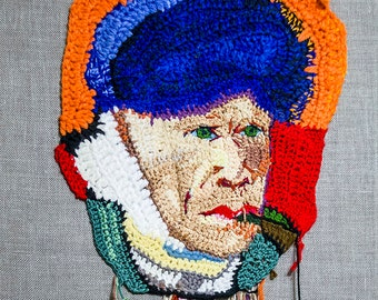 Crochet Van Gogh 40x50 (Without wooden subframe)