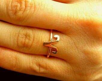 Aries Ring-Zodiac Ring-Horoscope Ring-Astrology Sign-Zodiac Jewelry-925K Silver Handmade Aries Zodiac Ring