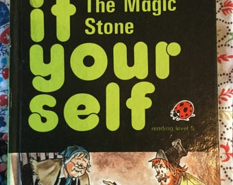 Vintage Ladybird Classic Book - The Magic Stone