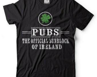 St Patrick's Day T-Shirt Cool St Patricks Day T-shirt Irish Ireland Shirt Pubs T-shirt