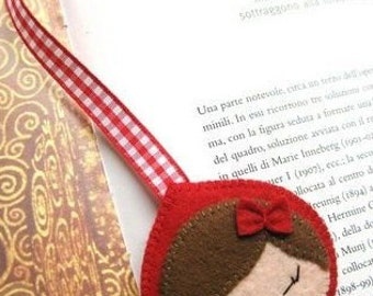 Bookmark Riding Hood Red