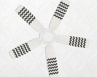Chevron Fan Blade Decals, Fan Blade Stickers