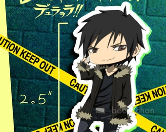 DURARARA!! Anime Sticker Izaya Orihara Chibi